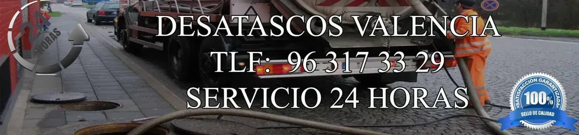 somos los lideres de los desatascos en Valencia